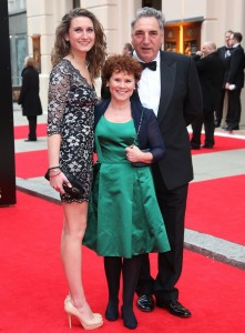 The Laurence Olivier Awards 2013 held at the Royal Opera House - Arrivals Featuring: Imelda Staunton,daughter,husband Where: London, United Kingdom When: 28 Apr 2013 Credit: Lia Toby/WENN.com