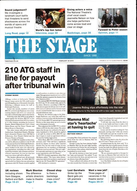 thestage-front-page